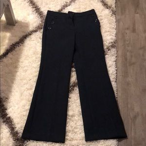 Never worn Ann Taylor dress pants navy